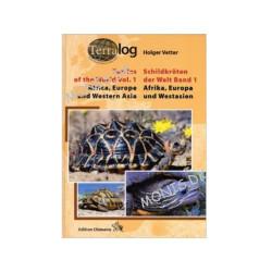 Terralog Vol.1 Tortoises and Turtles Of The World,  Afrika, Europa og Vestasien