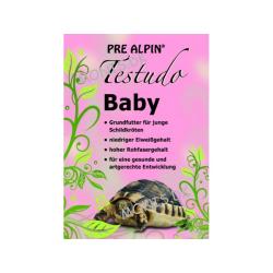 Pre Alpin Testudo Baby 300 grams dåse, perfekt foder til landskildpadde babyer