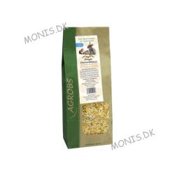 Pre Alpin Morgenfrueblomst Blade i original emballage bruges som snack til chinchilla, hamster, marsvin og landskildpadde.