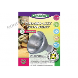 DRAGO-LUX Sunlight Dessert 70W HID Pærer til ørkenlevende krybdyr  så som skildpadder og skægagamer.