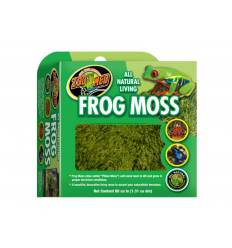 Frog moss zoo med