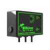 Microclimate B1 termostat set fra siden af. Dimming termostat til varmemåtter og varmepærer.
