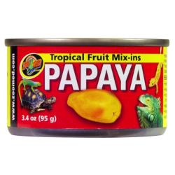 Zoo Med Tropical Fruit mix Papaya - Frugt på dåse lavet som krybdyrfoder