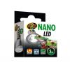 LED til terrarier - Zoo Med Nano pære 5W perfekt til mindre dyr som farvefrøer , gekkoer og blomsterbiller.