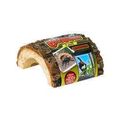 Zoo Med Creatures Træhule - perfekt til alle hvirvelløse dyr, giver et perfekt skjul og gemmested, køb her.