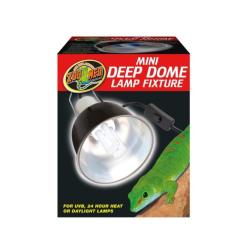 Zoo Med Mini Deep Dome Lampe til terrarier med plads til UVB pærer inden i
