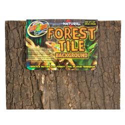 Zoo Med Natural Forest Tile Baggrund 30x45 cm perfekt som en anderledes opslagstavle.