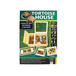 Tortoise house 91x61x30,5cm i en flot sammenpakning klar til at blive samlet. Køb på Monis.dk!