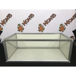 Skildpaddebord til landskildpadder, specielt udviklet terrarium som giver dine skildpadder de bedste forhold.