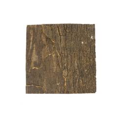 Dark Wood naturkorkplade regnskovs tema
