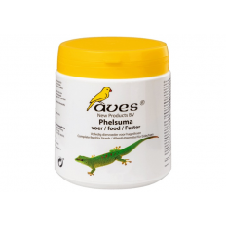 Aves Phelsuma Food 450g bøtte til dag gekkoer, anoler og andre frugtspisende krybdyr. Køb online på Monis.dk