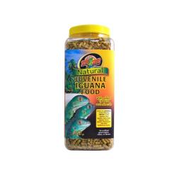 Zoo Med Iguana Food – Juvenile Formula. Leguanfoder til leguan unger eller ungdyr. Køb online på Monis.dk Nu!