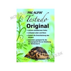Label på Agrobs Pre Alpin Testudo Original Dåse