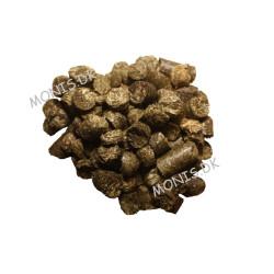 Landskildpaddefoder Pre Alpin Testudo Herbs fuldfoder Etiketbillede